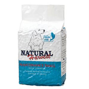 ナチュラルハーベスト穀物不使用 フィッシュ 成犬・シニア用