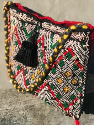 Vintage moroccan shoulder rug bag ( ヴィンテージ モロッコ ショルダー  ラグ バッグ
