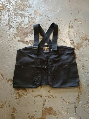 "COMFY OUTDOOR GARMENT ""EVERYTHING RIGHT PLACE VEST"" Black Color"