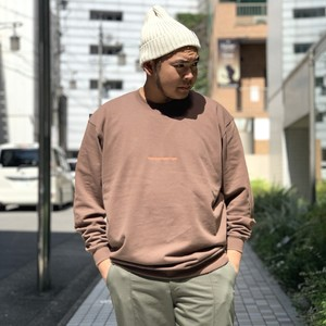 frnc. - 刺繍トレーナー - brown