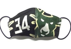 【デザイナーズマスク 吸水速乾COOLMAX使用 日本製】NFL SPORTS MIX MASK CTMR 1212007