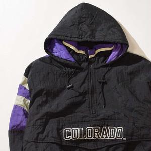 【Lサイズ】COLORADO ROCKIES コロラド ロッキーズ JACKET ジャケット BLACK ブラック 400610190903