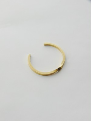 WEISS Twist Bangle Gold wei-bggd-14