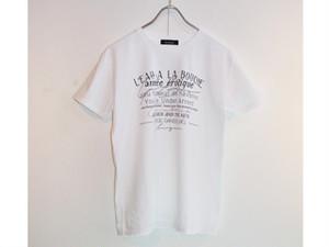 セルジュ・ゲンスブールTシャツ〈タイポ〉(L)