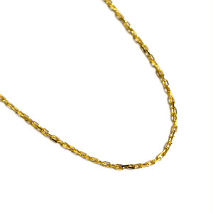 K18 Gold AZUKI Chain 45cm【品番 NAN18-GA001】