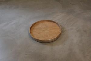 円居という名の木の器 φ180皿 胡桃