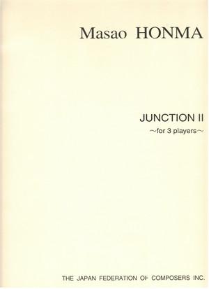 H04i93 Junction II(Trumpet,Piano,Percussion/M. HONMA /Full Score)