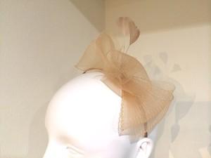 ヘッドドレス 「ブレード」 カチューシャ ベージュ