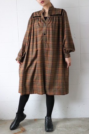 Givenchy brown check dress