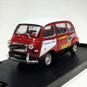 FIAT 600 MULTIPLA 1960 DERIVAZ ABARTH 1/43【brumm】【1個のみ】【税込価格】