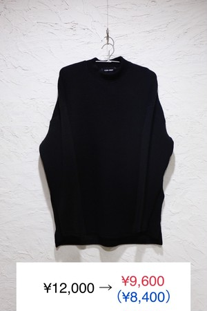 Black High Neck knit