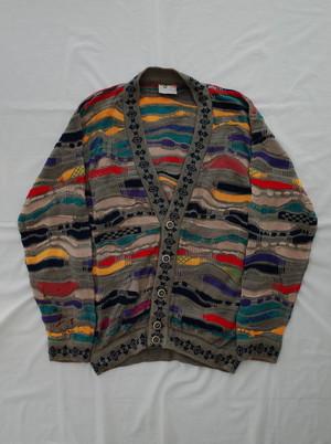 Used COOGI knit cardigan