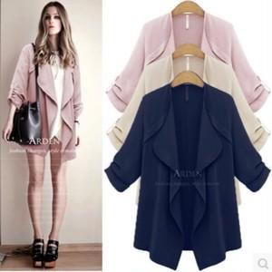 Cute♡ゆったりミディアムジャケットコート