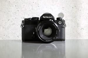 Nikon FM Black