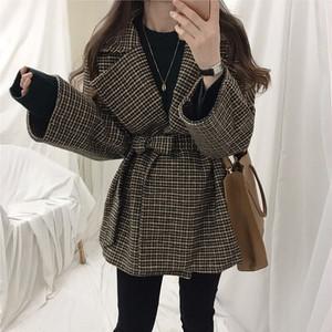 人気 可愛い 韓国ファッション 厚手 フェアリー 着回し力抜群 シンプル 通勤コーデ スーツ・アウター