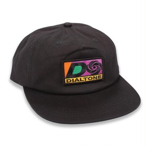 DIAL TONE WHEEL CO ATLANTIC SNAPBACK HAT BLACK