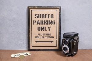 【A4】 サーファー専用 駐車標識