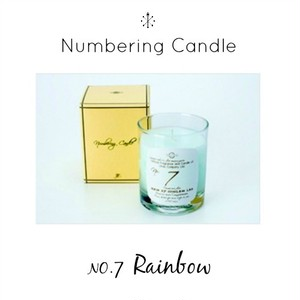 Numbering Candle NO.7