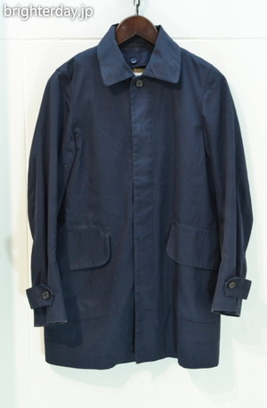 HARRIS TWEED ステンカラーコート