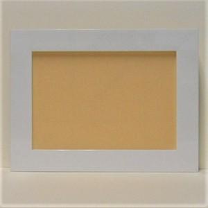 ホワイトA5フレーム1836白A5額縁サイズ(212mm×150mm)窓枠サイズ198mm×136mm壁掛け用