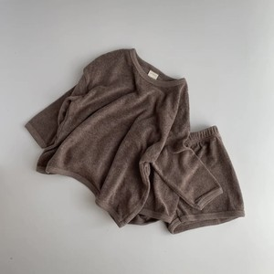 【即納】basic towel set | oatmeal(パイル地セットアップ)