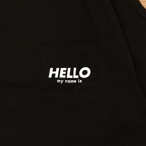 HELLO my name iz / POCKET TEE