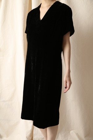 PIERRE BALMAIN Vintage Velvet Dress