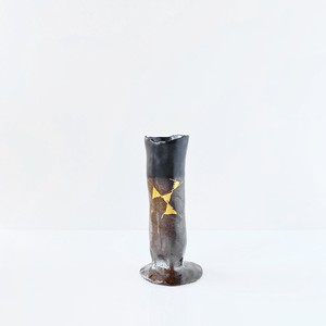 花器  [ 藤本F美歩  陶 ] H110  F-2
