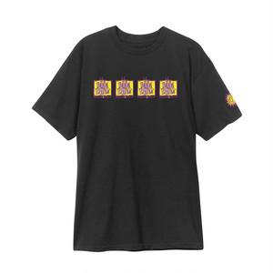 NEW DEAL - Original Napkin 4-Bar S/S Tee (Black)