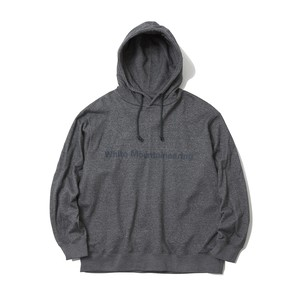 BRUSHED BACK PULLOVER HOODIE - GRAY