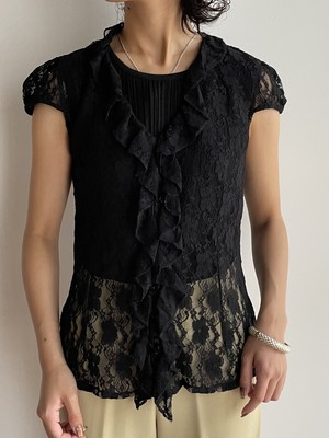 (TOYO) design lace tops