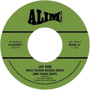 """【残りわずか/7""""】Jay Dee / J Dilla - Rico Suave Bossa Nova (Mr Thing Edit) / Come Get It"""