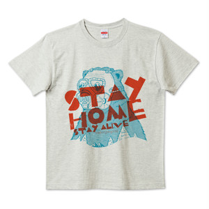 STAYHOME STAYALIVE Tシャツ