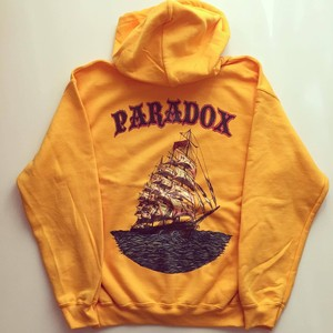 Ship Colour Pullover Hood (Yellow) Inkjet print