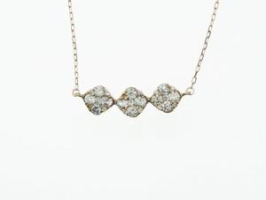 【宝石鑑別書】0.50ct UP ダイヤモンドネックレス K18PG