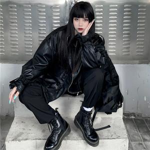【アウター】ストリート系PUファッションジャケット25968161