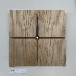 稲葉崇史/壁掛け時計・四角ブックマッチ・クリ