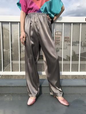 Vintage metalic silver pants ( ヴィンテージ メタリック シルバー パンツ )