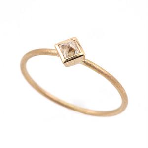 Uncut diamond ring / Octahedron