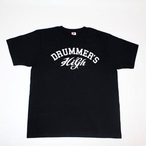 DRUMMER'S HIGH Tシャツ(ブラック)