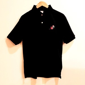 刺繍ポロ・ブラック(M or L)