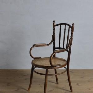 Bentwood Arm Chair / ベントウッド アーム チェア〈ダイニングチェア・曲木・トーネット・ヨゼフホフマン・ラタンチェア・籐〉
