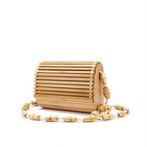 RIMI&Co. SELECT  バンブー ショルダーカゴバッグ < Bamboo Bag >