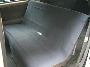 ウェット生地のシートカバー後席用 グレー