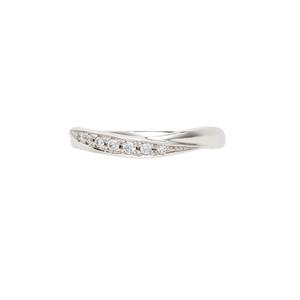 [約1ヶ月でお届け]レディース 3mm幅 プラチナ 結婚指輪    OCTAVE∞Nouer~結び~「手をとりあって ふたりのリズムで 時を結び こころを結ぶ」