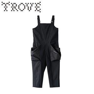 TROVE x 岡部文彦 / BIG POCKET OVERALL ( TYPE : ACTIVE ) / BLACK