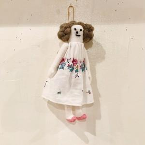 mojojojo - 女の子チャーム(brown hair - pink shoes)