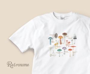 きのこたちのTシャツ