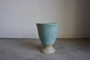 福森 泉 ゴブレット 青銅釉(磁器)