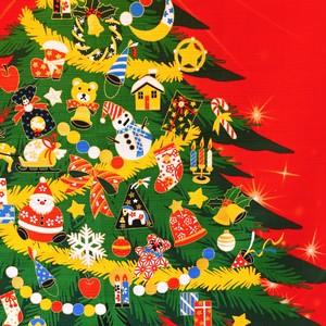 クリスマスタペストリー 棒は別売